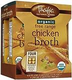 Pacific Foods Organic Chicken Broth - 32 oz - 4 pk