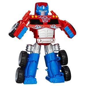 Playskool Transformer Rescue Bots Optimus Prime Rescue Traile Toy