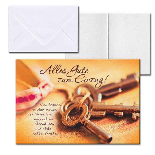 cartolini aufklappkarte karte spr che zitate briefumschlag einzug. Black Bedroom Furniture Sets. Home Design Ideas