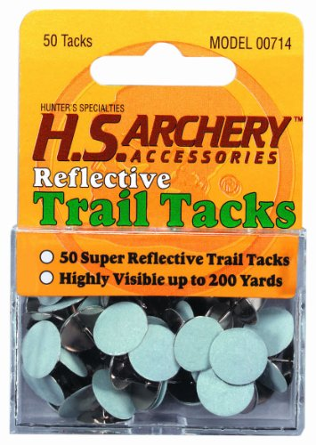 Hunter's Specialties Hunters Specialties Reflective Trail Tacks, White