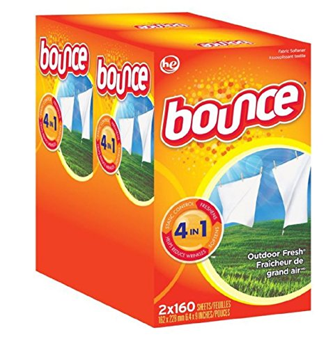 Bounce Outdoor Fresh (old version) HE, 320 Sheet (Bounce For Dryer compare prices)
