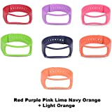 Set 7 New color: Replacement Bands with Metal Clasps for Samsung Galaxy Gear, New 2015 Best_Express Replacement Bands with Metal Clasps for Samsung Galaxy Gear Fit Bracelet Smart Wristband Wireless Activity Bracelet Sport Bracelet Sport Arm Band Armband (1band+1clasp) - (7Band(NewColor))
