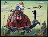 Joe Vaux Season of the Rabbit Wooden Jigsaw Puzzle