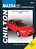 img - for Chilton Mazda3 2004-11 Repair Manual book / textbook / text book