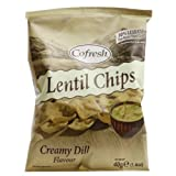 Eat Real Lentil Chip Cream Dill 40g x 2 Pack Deal Saver