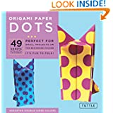 "Origami Paper - Dots - 6 3/4"" - 49 Sheets: (Tuttle Origami Paper)"