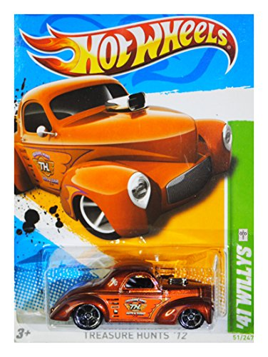Hot Wheels '41 Willys 2012 Treasure Hunts 1/15 51/247 - 1