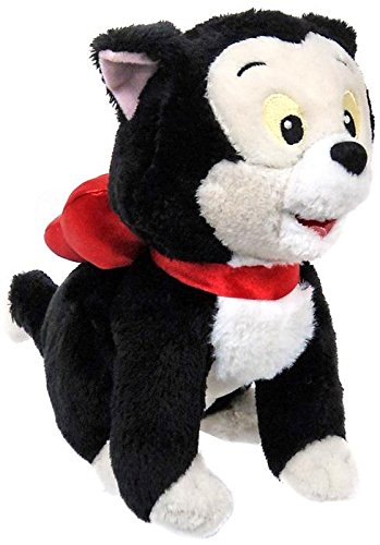 Disney Junior Minnies Pet Cat Figaro 8 Inch Bean Bag Plush
