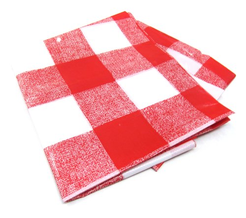 21St Century B59A2 Picnic Table Cloth, 52-Inch By 72-Inch