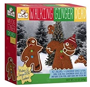 Dead Undead Zombie Gingerbread Cookie Kit : Grocery & Gourmet Food