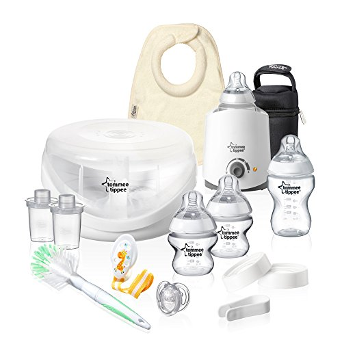 Cheapest Prices! Tommee Tippee Closer to Nature Complete Starter Set