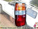Genuine Part Left Side Toyota Land Cruiser Landcruiser Fj82 Fj80 Rear Tail Lights 91 92 93 94 95 96 97 LHS