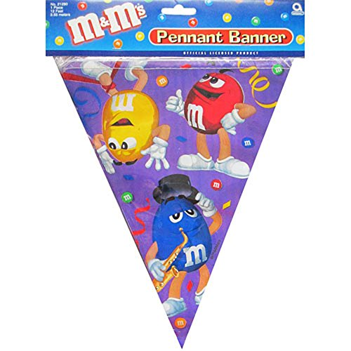 M&M's Pennant Banner (1ct) - 1