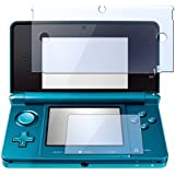 Everydaysource® 2-in-1 Clear Reusable Screen Protector LCD Film Cover for Nintendo 3DS