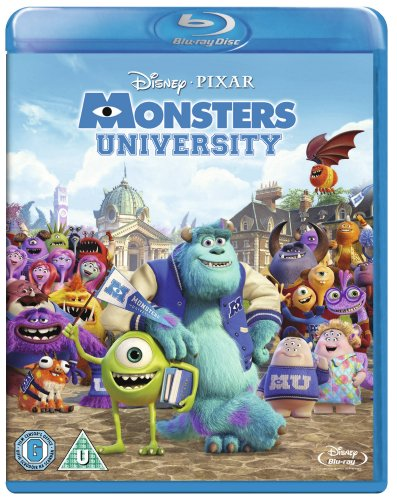 Monsters University [Blu-ray] [Import]