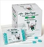 Medline Dentips Oral Swabsticks, Green, 1000 Count by Medline Industries