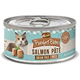 Merrick 3 oz Purrfect Bistro Salmon Pate Canned Cat Food, 24 count case