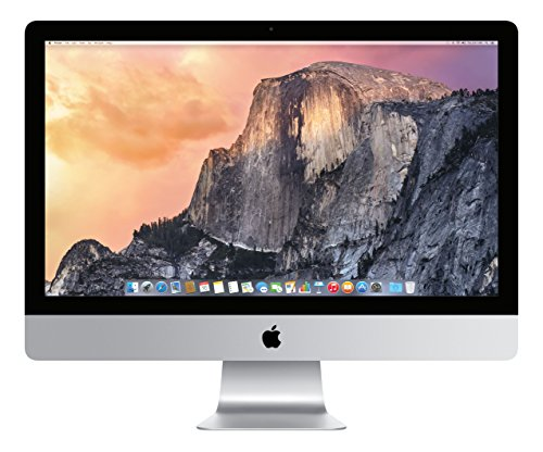 Apple iMac MF885LL/A 27-Inch Desktop (3.3 Ghz Quad-core processor,1 TB Hard Drive,8GB DDR3L)