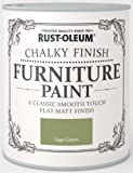 Rust-Oleum Chalky Furniture Paint Sage Green 125ml