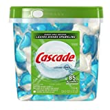 Cascade ActionPacs, Dishwasher Detergent, Fresh Scent, 85-count Container