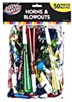 Mega Pack Horns and Blowouts 50ct Toy