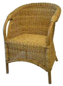 Wicker Armchair - Cane/Rattan