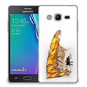 Snoogg burning euro zJGF Designer Protective Back Case Cover For Samsung Galaxy Tizen T3