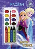 Sisters Forever (Disney Frozen) (Color and Paint plus Stickers)
