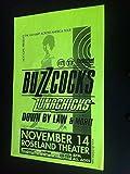 Buzzcocks Lunachicks Original Portand 1st Printing Punk Flyer Concert Poster