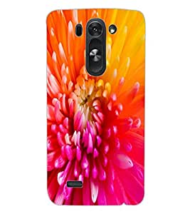 ColourCraft Beautiful Flower Design Back Case Cover for LG G3 BEAT