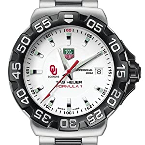 University of Oklahoma TAG Heuer Watch - Mens Formula 1 Watch with Bracelet by TAG Heuer