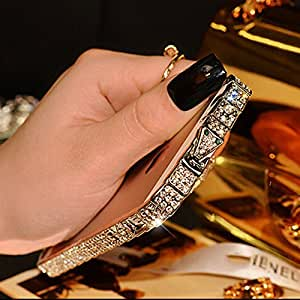 New Arrival Luxury Bling Snake Diammond Inlay Metal Rhinestone Bumper Case For Iphone 5 /Iphone 5S
