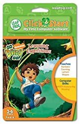 Leapfrog Clickstart Educational Software-Go Diego Go
