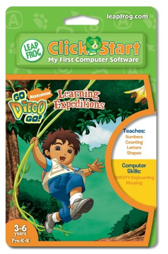 Leapfrog Clickstart Educational Software:Go Diego Go - 1