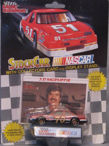 1991 Racing Champions #70 J. D. McDuffie - 1