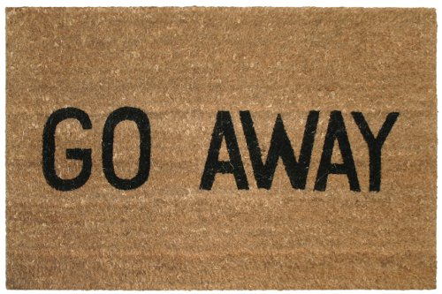 Cheap Go Away Doormat