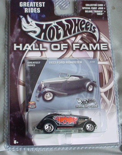 Hot Wheels Hall of Fame Greatest Rides 1933 Ford Roadster