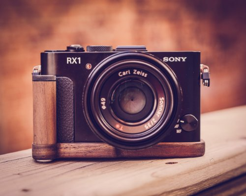 Premium Wood Grip For Sony Rx1 Rx1R By J.B. Camera Designs - Made In The Usa