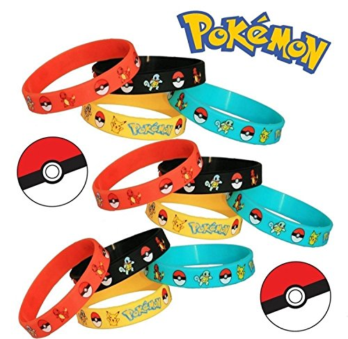 CharmTM-Set-of-5-Silicone-Pokemon-Go-bracelets-Party-Favor-Kids-Birthday-Toy-Gift