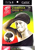 Titan Classic Dreadlock Stocking Cap #22136 [Black]