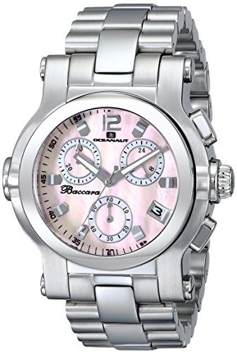 Oceanaut Women's OC0721 Baccara Analog Display Quartz Silver Watch