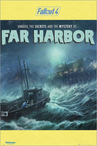 Poster Fallout 4 - Far Harbour - manifesto risparmio, cartellone XXL