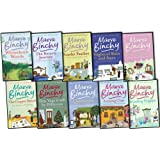 Maeve Binchy Maeve Binchy 10 Books Collection Pack Set(The Return Journey, Scarlet Feather, Evening Class, The Copper Beech, Whitethorn Woods, This Year It Will Be Different, Minding Frankie, Heart And Soul, Nights Of Rain And Stars, Quentins)