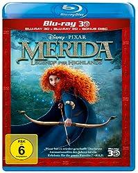 Merida - Legende der Highlands (+ Blu-ray) [Blu-ray 3D]