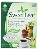 SweetLeaf Sweetener (70-Count Packets), 2.5-Ounce Boxes (Pack of 3)