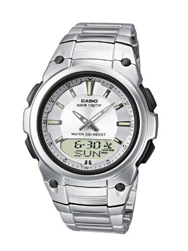 Funkuhren Herren-Armbanduhr Analog / Digital Quarz WVA-109HDE-7AVER