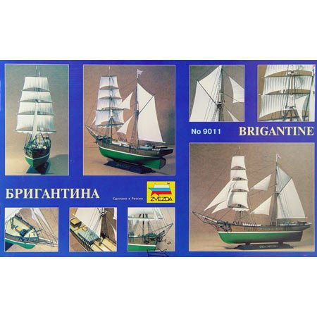 ZVEZDA 9011 Brigantine 1:100