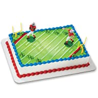 Football-Touchdown DecoSet Cake Decor…