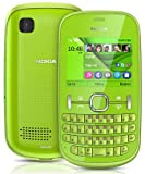Nokia Asha 201 Sim - Free Mobile Phone - Green