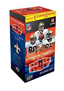 New Orleans Saints Super Bowl XLIV Champions Box Set by Upper Deck